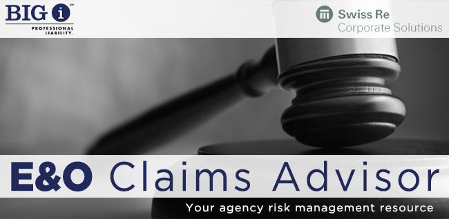 E&O Claims Advisor Newsletter