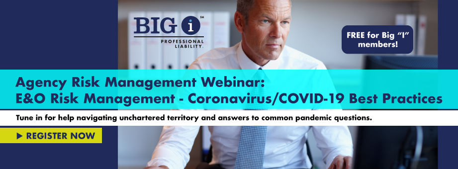 FREE Webinar:  Coronavirus Risk Management Best Practices Webinar