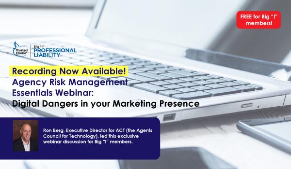 Digital Dangers in your Marketing Presence